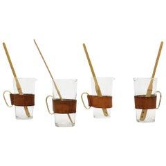 Carl Auböck Set of 4 Glass Pitchers