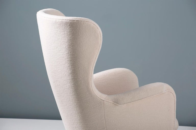Carl-Axel Acking Swedish Wing Chair, 1940s For Sale 2