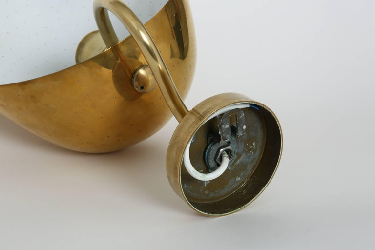Carl-Axel Acking Wall Lamps in Brass For Sale 5