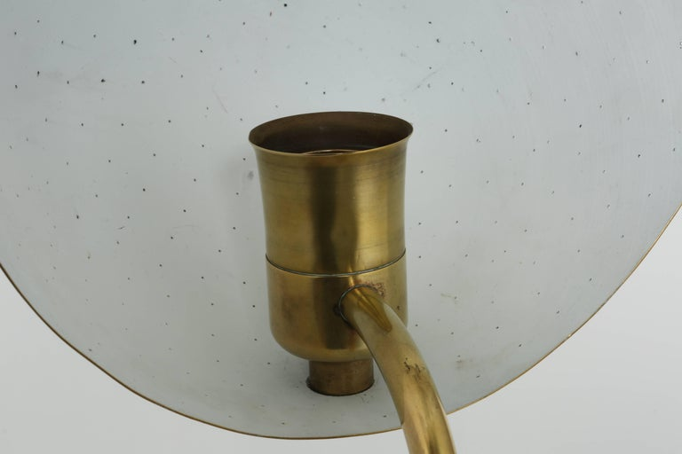 Carl-Axel Acking Wall Lamps in Brass For Sale 8