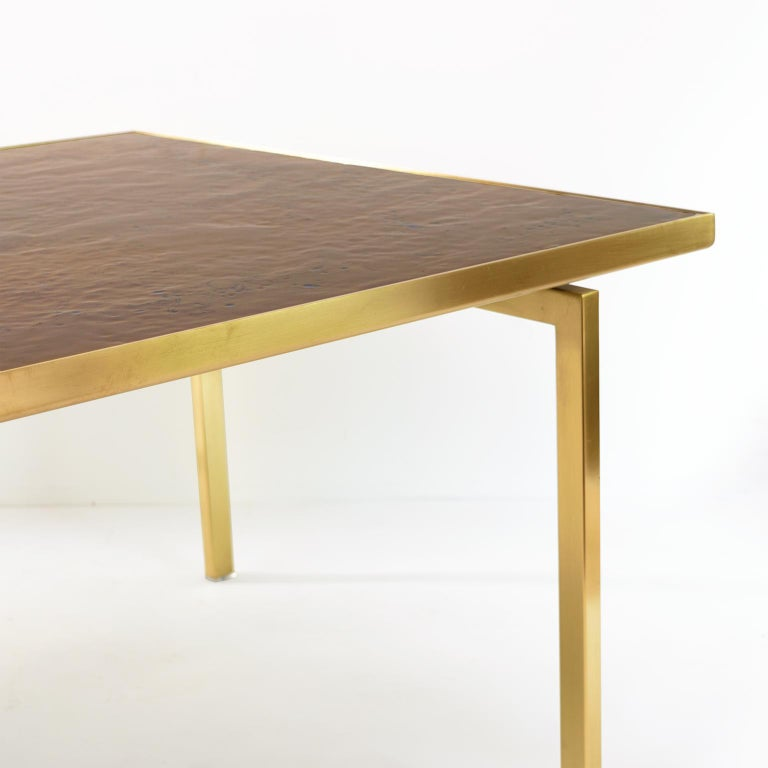 Carl Bjørn, P. Törneman Enameled Triva Coffee Table Produced by Nk Stockholm In Good Condition For Sale In New York, NY