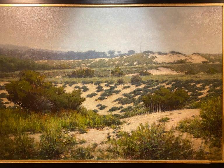 Beyond the Dunes - Black Still-Life Painting by Carl Bretzke