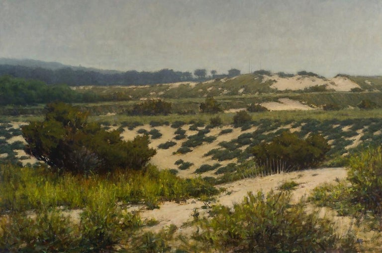 Carl Bretzke Still-Life Painting - Beyond the Dunes