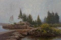 Fog Over Rocks