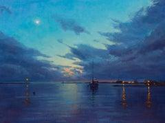Harbor Evening Clouds