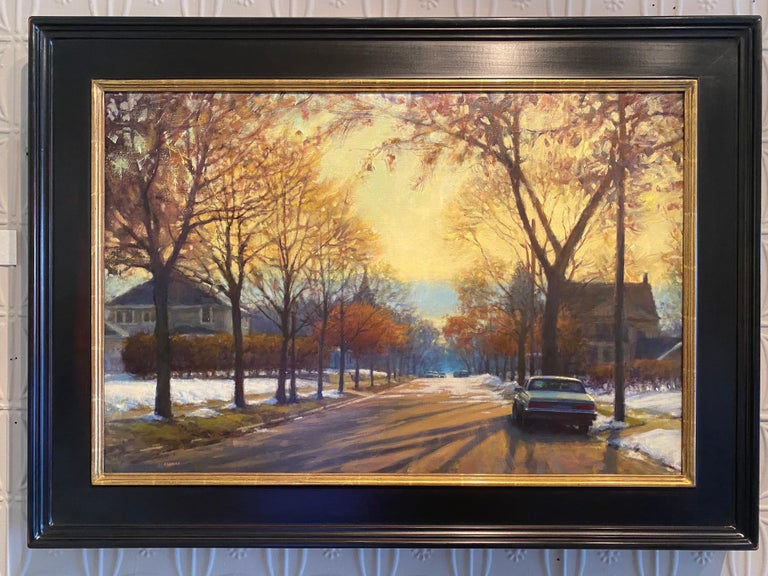 Remnants of Winter  - Painting by Carl Bretzke