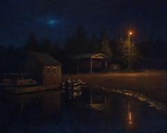 Twilight Boat Deck