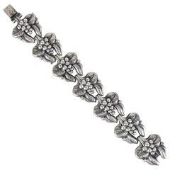 Carl Brumberg-Hansen, Danish 1940s Sterling Silver Bracelet