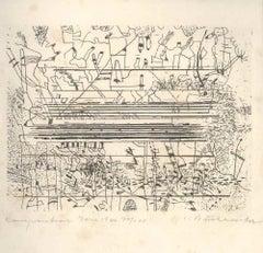 Buchheister - Suite of 10 Original Etchings by C. Buchheister - 1966