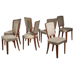 Carl Cederholm Set of Seven Dining Chairs, Sweden
