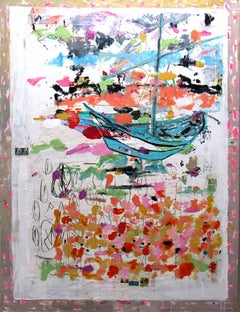 Drunken Boat, abstract, colorful, gesture, patterns