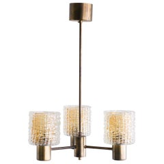 Carl Fagerlund Three-Arm Chandelier
