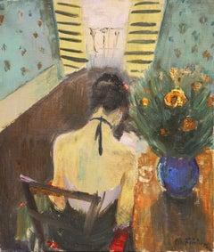 'Jeune Femme Liseuse', Paris, Charlottenborg, Danish Post Impressionist, Benezit
