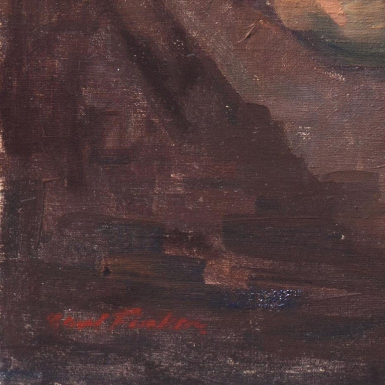 Post Impressionist Figural, 'Woman Reclining', Benezit and Thieme-Becker For Sale 2