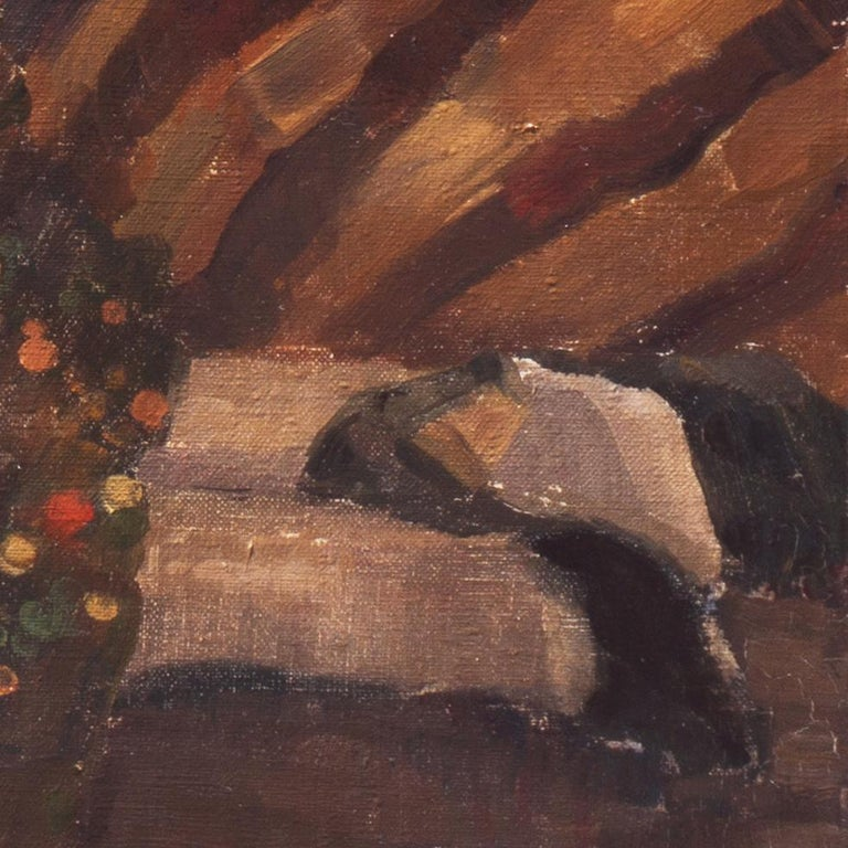 Post Impressionist Figural, 'Woman Reclining', Benezit and Thieme-Becker For Sale 6