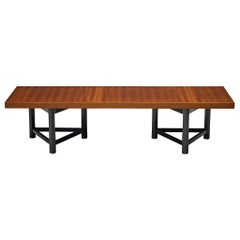 Carl Gustaf Hjort af Ornäs Coffee Table in Mahogany