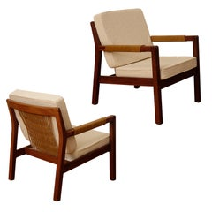 """Carl Gustav Hiort af Ornäs, a Pair of Armchairs, """"Rialto"""", 1950s"""