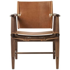Carl Hansen BM1106 Huntsman Chair in Cognac with Walnut Oil by Børge Mogensen