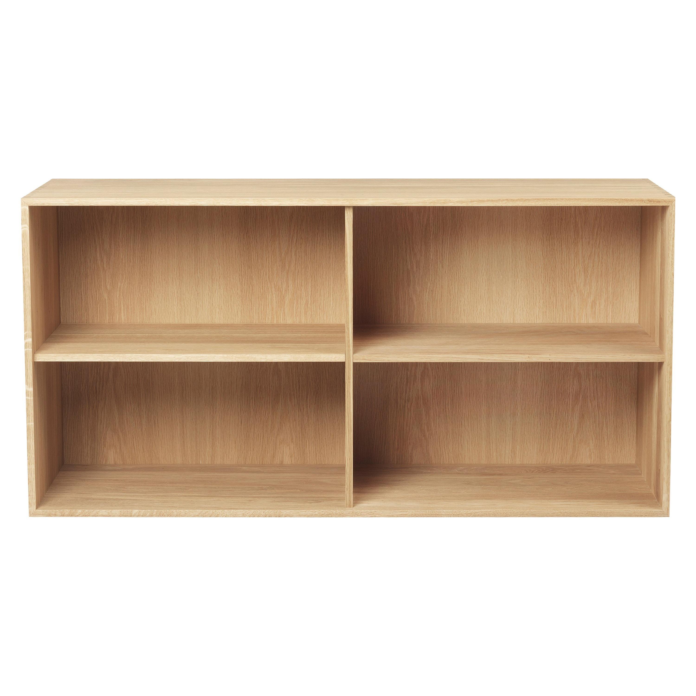Carl Hansen FK63 2110 Bookcase with Shelf in Oak Oil by Fabricius & Kastholm