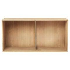 Carl Hansen FK63 2110 Deep Bookcase in Oak Oil by Fabricius & Kastholm