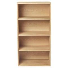Carl Hansen FK63 Deep Cabinet in Oak Oil with 4 Shelves by Fabricius & Kastholm