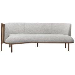 Carl Hansen RF1903 Sideways Sofa in Hallingdal 116 with Walnut Oil by Rikke