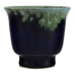 Carl Harry Stålhane for Designhuset, Small Vase in Glazed Ceramics