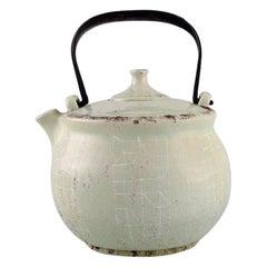 Carl Harry Stålhane '1920-1990' for Rörstrand, Teapot in Glazed Ceramics