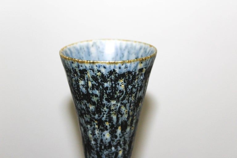 20th Century Carl-Harry Stålhane Ceramic Vase by Rörstrand For Sale