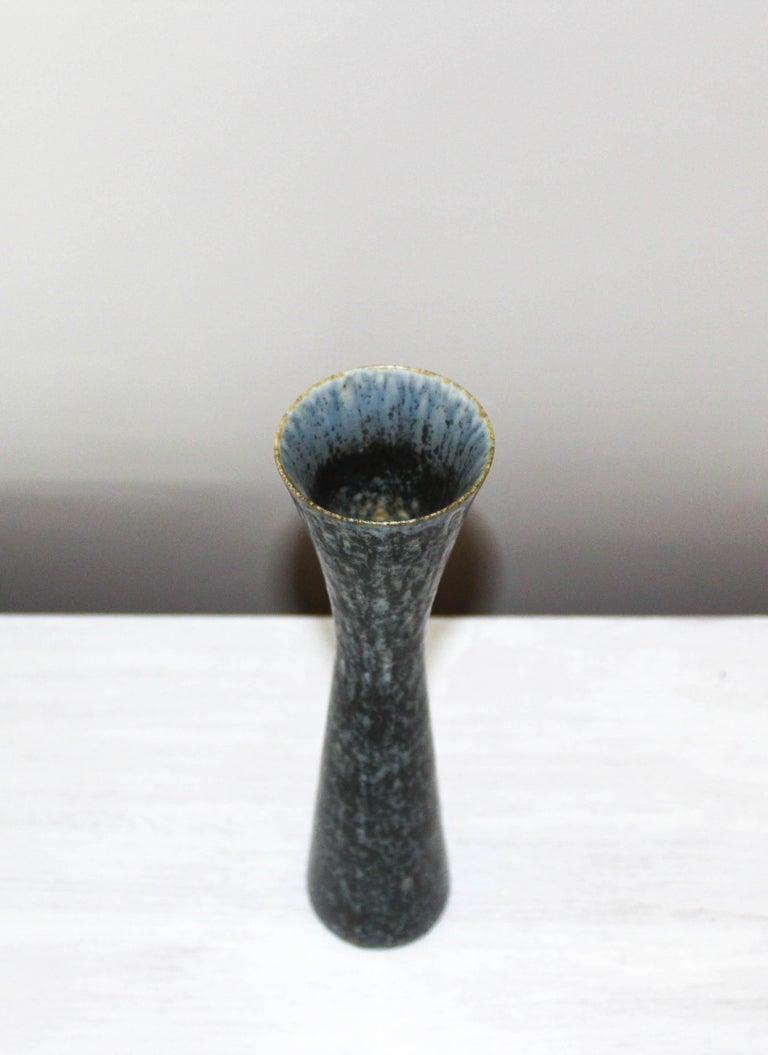 Carl-Harry Stålhane Ceramic Vase by Rörstrand For Sale 1