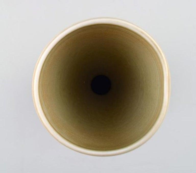Carl-Harry Stalhane for Rorstrand / Rørstrand, Ceramic Vase In Excellent Condition For Sale In Copenhagen, Denmark
