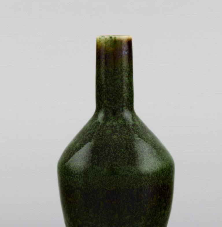Carl Harry Stålhane for Rörstrand, Vase in Glazed Ceramics, Mid-20th C In Excellent Condition For Sale In Copenhagen, Denmark