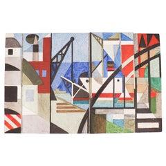 Carl-Harry Stålhane, Rörstrand, Wall Tile, Modernistic, 1955