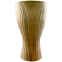 Carl Harry Stålhane/Stalhane, Rörstrand/Rorstrand Stoneware Vase, Rare Form
