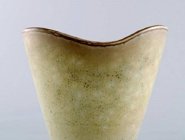 Carl Harry Stålhane, Rörstrand Stoneware Vase In Excellent Condition For Sale In Copenhagen, Denmark