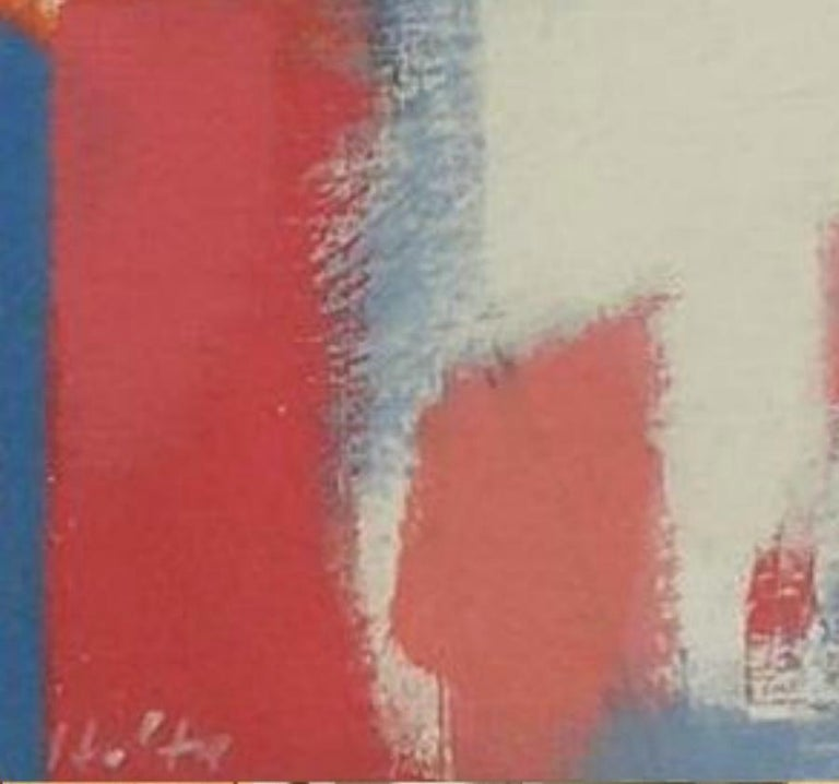 Carl Holty German American Artist Abstract Painting,