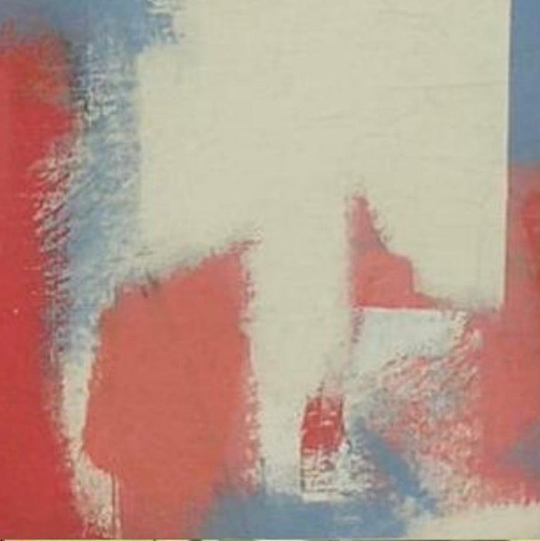 20th Century Carl Holty German American Artist Abstract Painting,