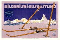 """Bilgeri-Ski"" Original Antique Ski Poster"