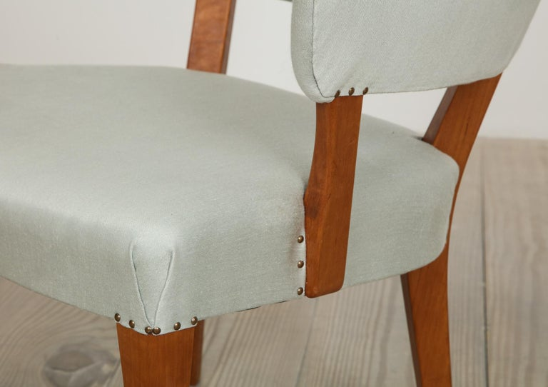 Carl Malmsten, Lata Greven Klismos Style Armchairs, Pair For Sale 3