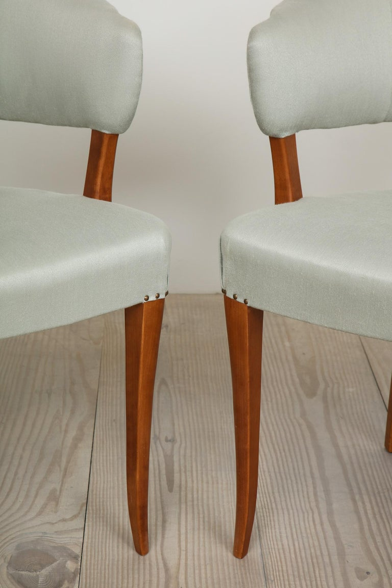 Mid-Century Modern Carl Malmsten, Lata Greven Klismos Style Armchairs, Pair For Sale