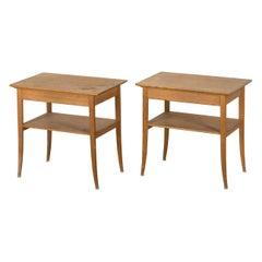 Carl Malmsten Bedside Tables