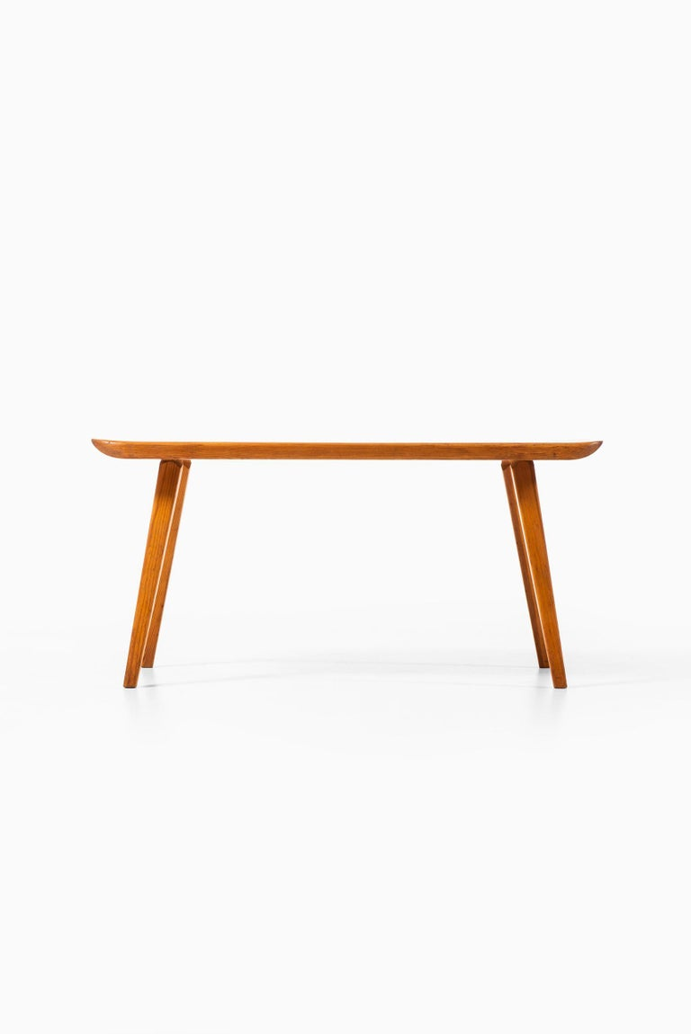 Mid-20th Century Carl Malmsten Benches Model Visingsö Produced by Svensk fur in Sweden For Sale