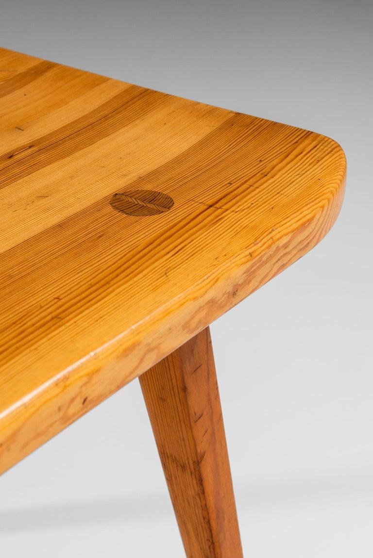 Pine Carl Malmsten Benches Model Visingsö Produced by Svensk fur in Sweden For Sale