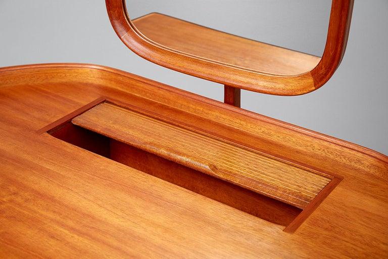 Swedish Carl Malmsten Birgitta Dressing Table, Mahogany