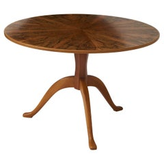 Carl Malmsten Burl Wood Table