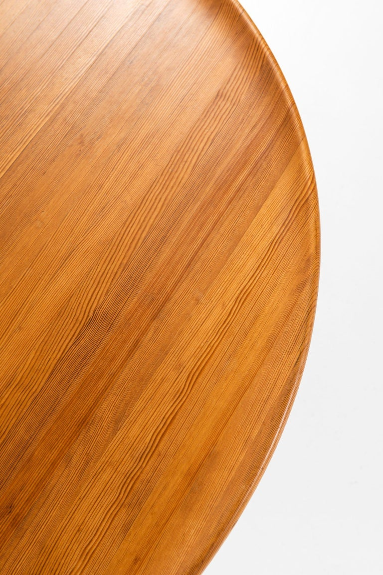 Mid-20th Century Carl Malmsten Coffee Table Produced by Svensk Fur in Sweden For Sale