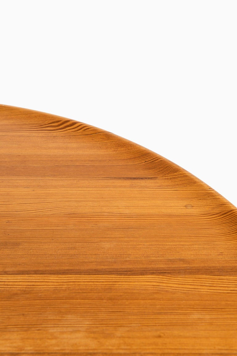 Pine Carl Malmsten Coffee Table Produced by Svensk Fur in Sweden For Sale
