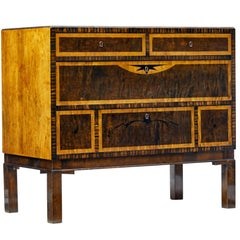 Carl Malmsten Design Art Deco Birch Chest of Drawers