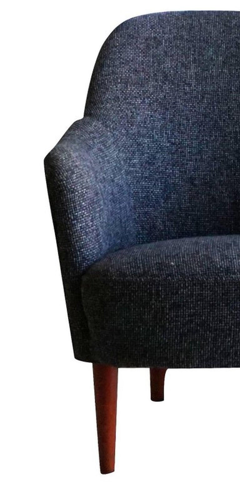 Swedish Carl Malmsten Easy Chair For Sale