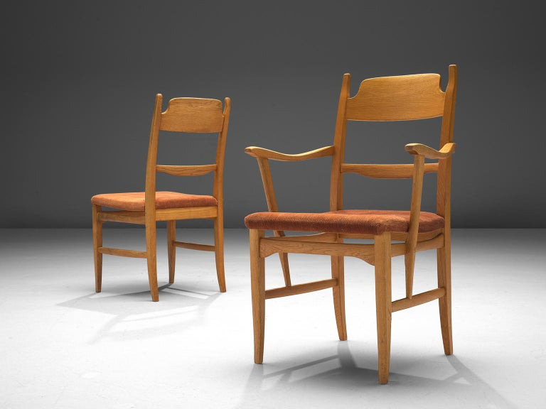 Swedish Carl Malmsten Large Set of Dining Chairs For Sale